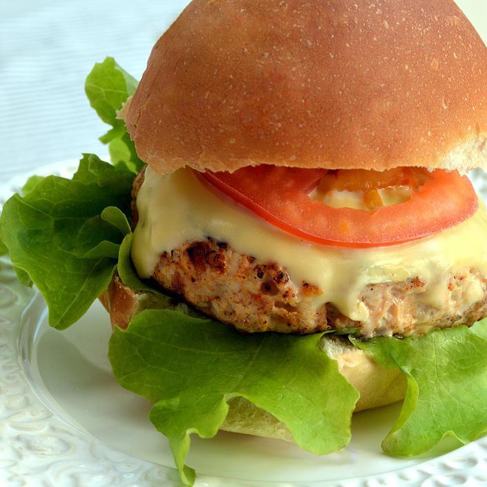 Hambúrguer Caseiro (porco ou frango)