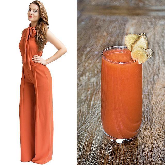 Fashion Food: Suco Detox de Cenoura com Acerola e Gengibre!