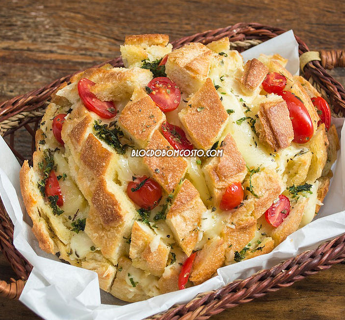 Pão Italiano Recheado – Pronto em 15 minutos!