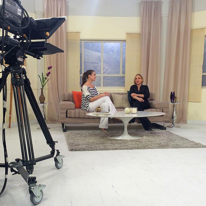 Assista: Gabi preparou 'Fashion Food' AO VIVO no programa da Claudete Troiano nesta terça-feira (16/6)