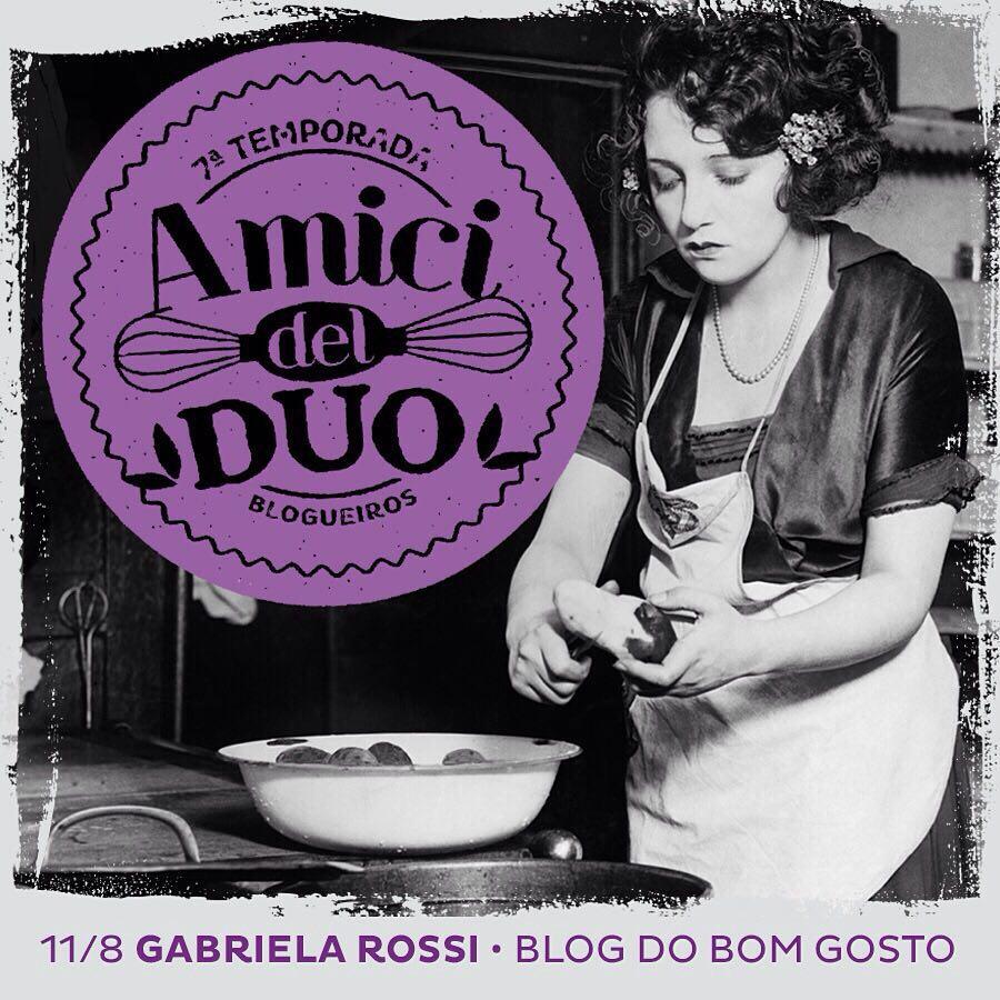 Lançamento 'Gnocchi Gabriela Rossi' na DUO, em Campinas!