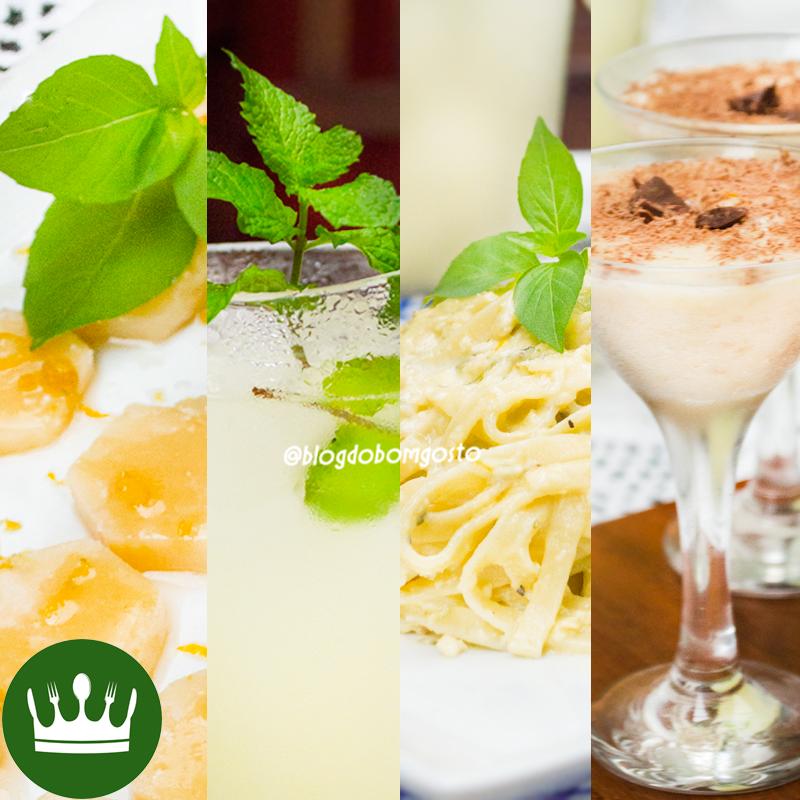 Almoço EXPRESS de VERÃO – 4 receitas em 7 minutos!