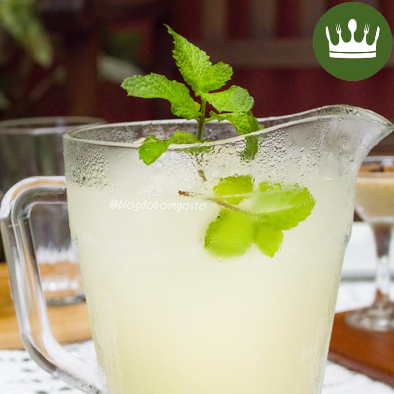 Drink de limão com Schweppes Citrus (com/sem álcool)