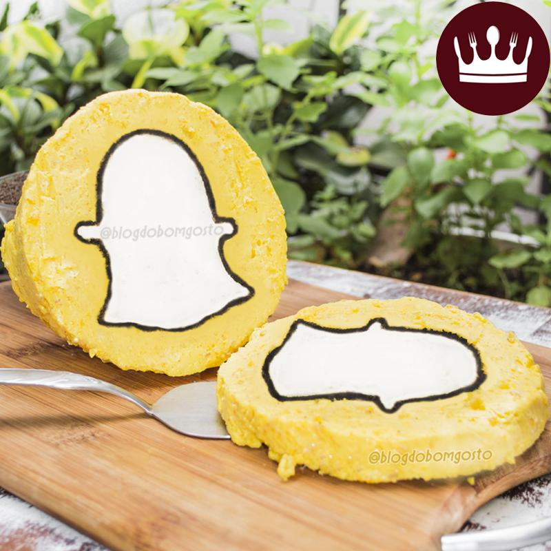 Receita 'Sobremesa Snapchat' (Recipe 'Snapchat Dessert')