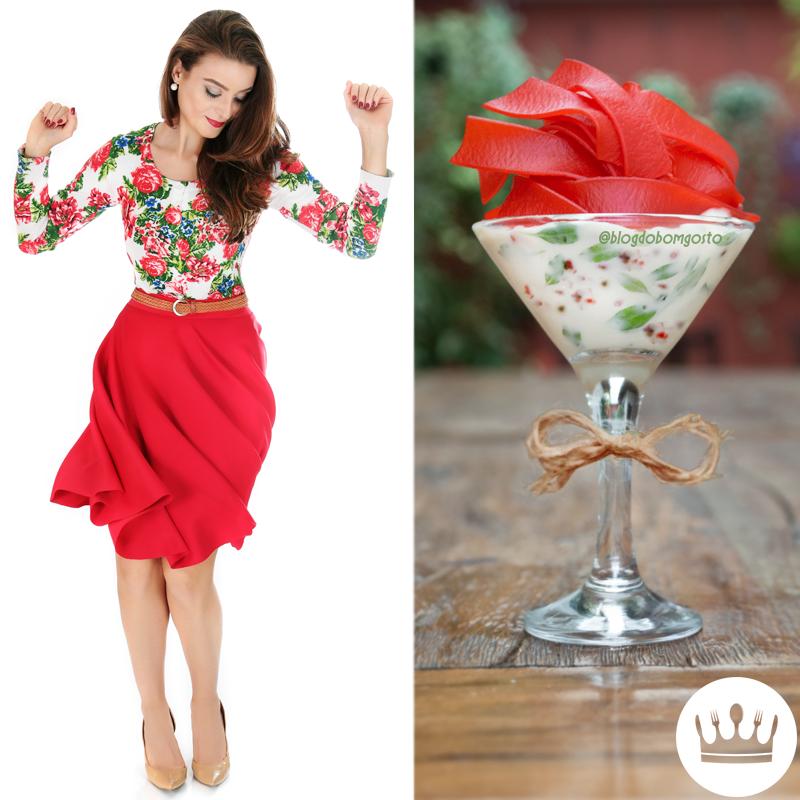 Fashion Food: Saia godê x Macarrão Vermelho