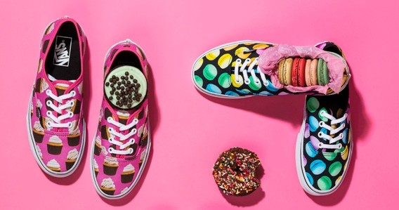Moda: junk foods viram estampa de tênis!