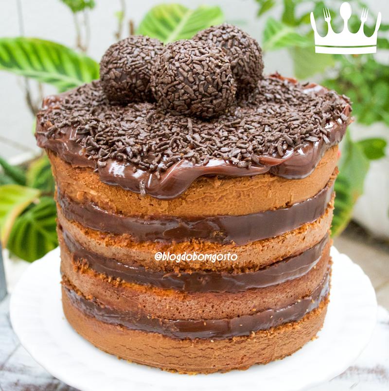 NAKED CAKE DE CENOURA COM BRIGADEIRO - Cozinha do Bom Gosto . c2688432252