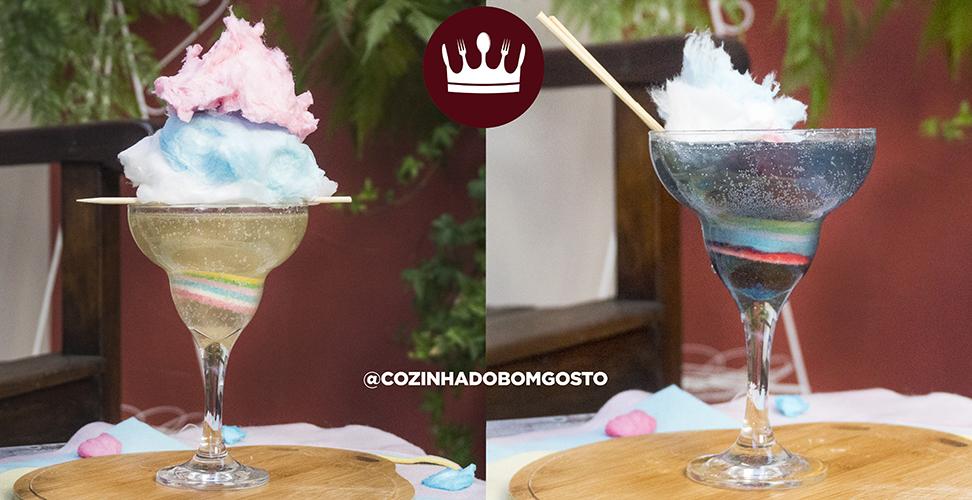 MUDA DE COR: DRINK ALGODÃO DOCE