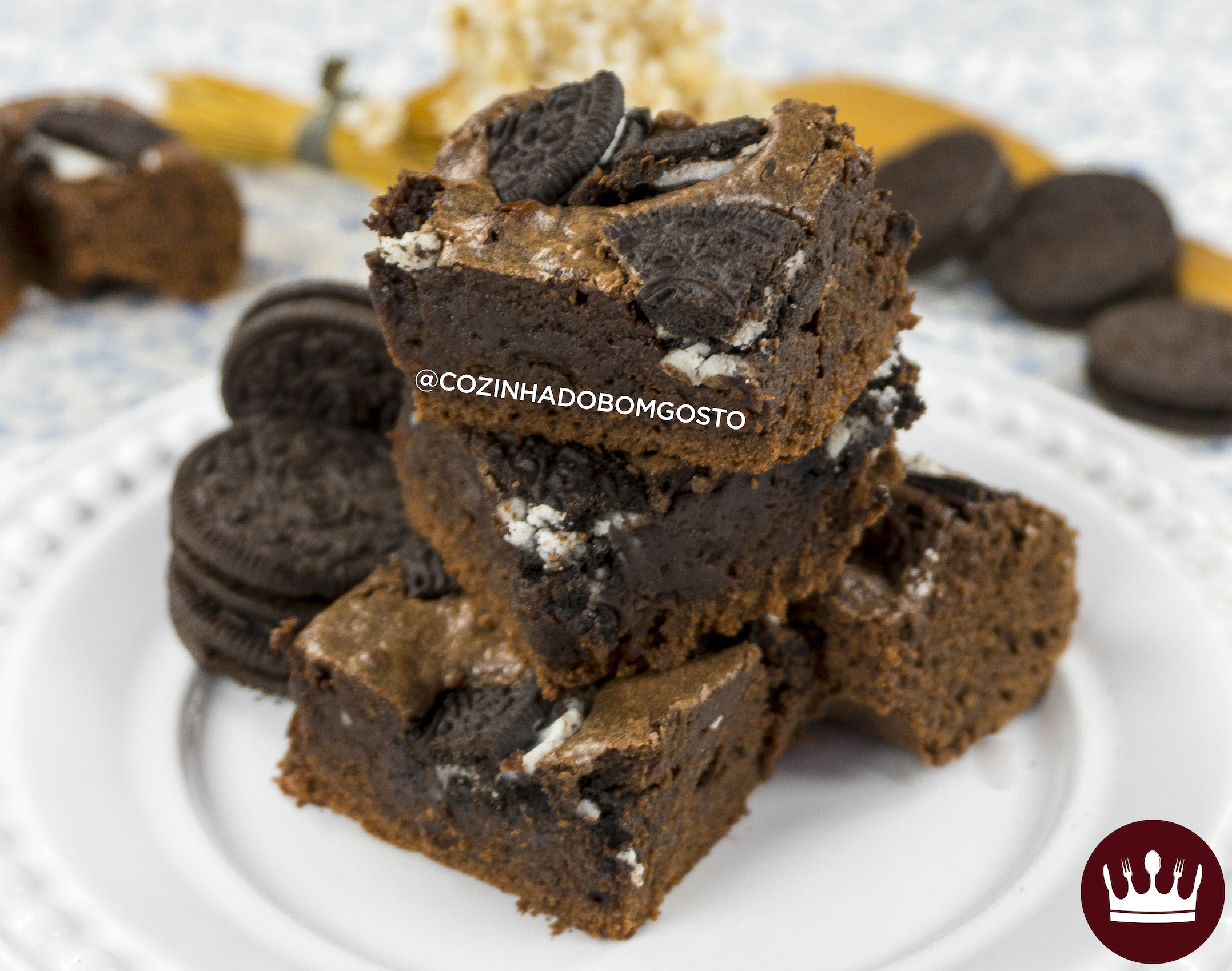 BROWNIE DE OREO (Part. Receitas de Minuto)